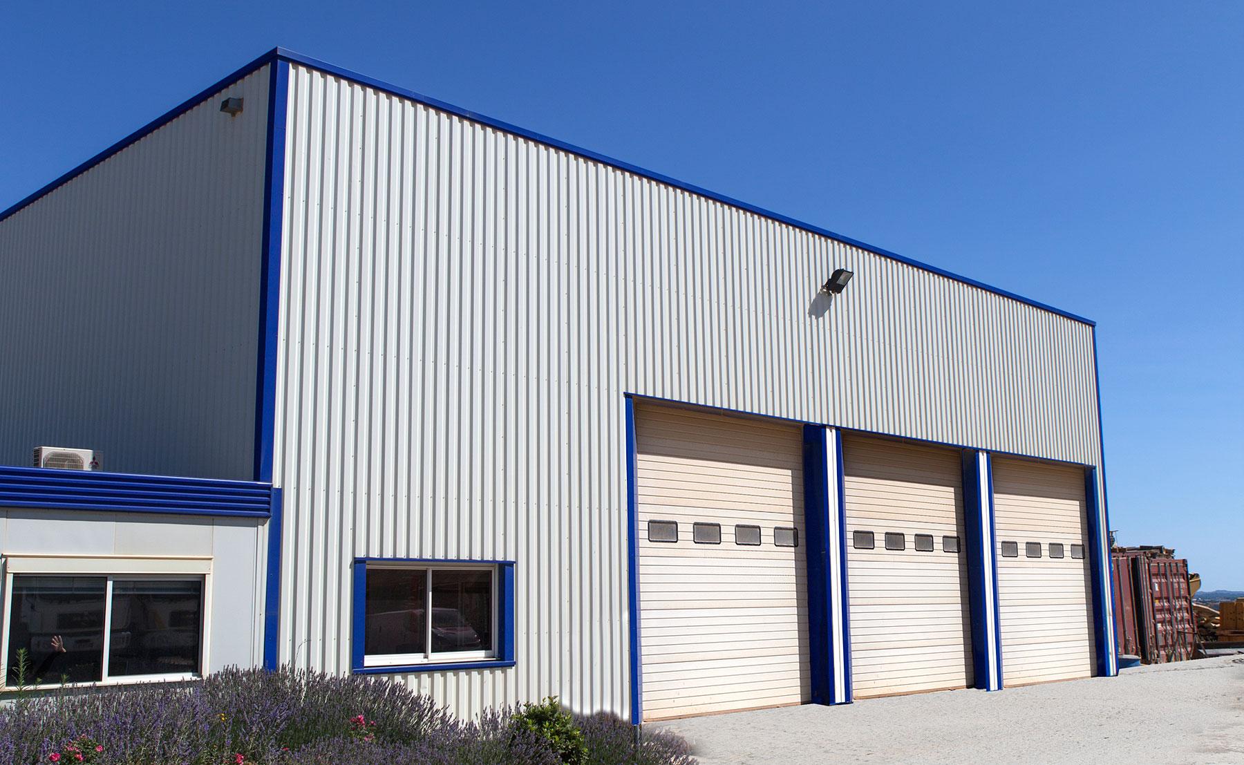 entrepôt et bureaux Agri TP
