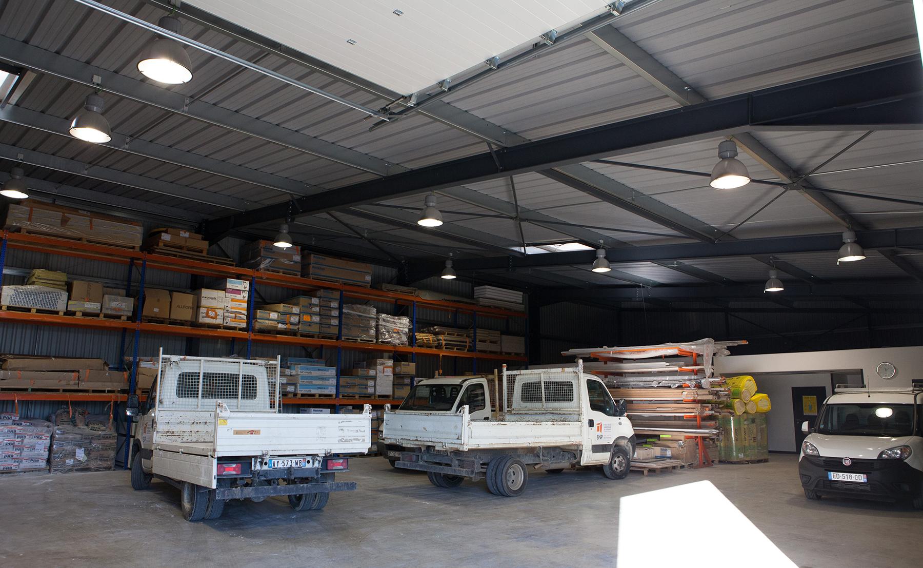 Bureaux et entrepôt SNP