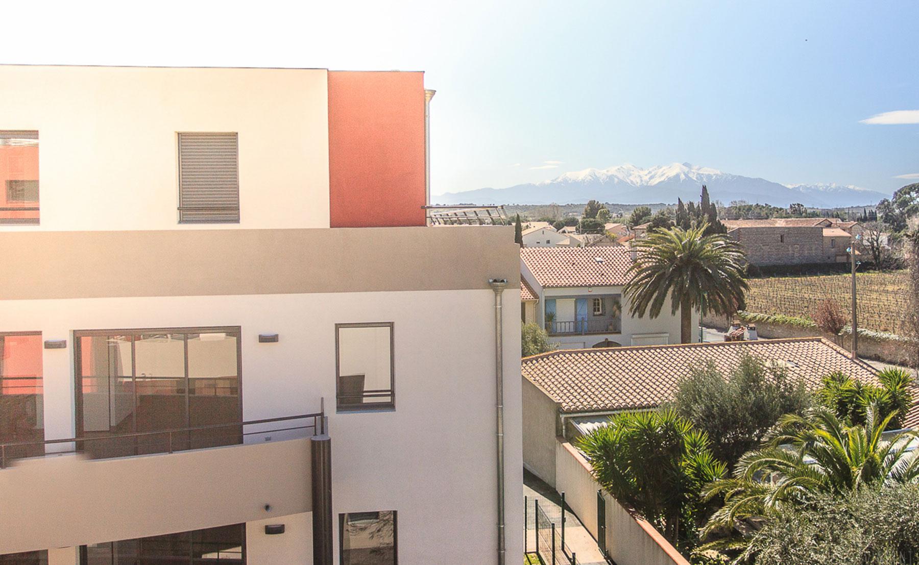 Construction en VEFA de la résidence La Savoureuse comprenant 2 immeubles de logements avec locaux professionnels et parkings couverts à Rivesaltes