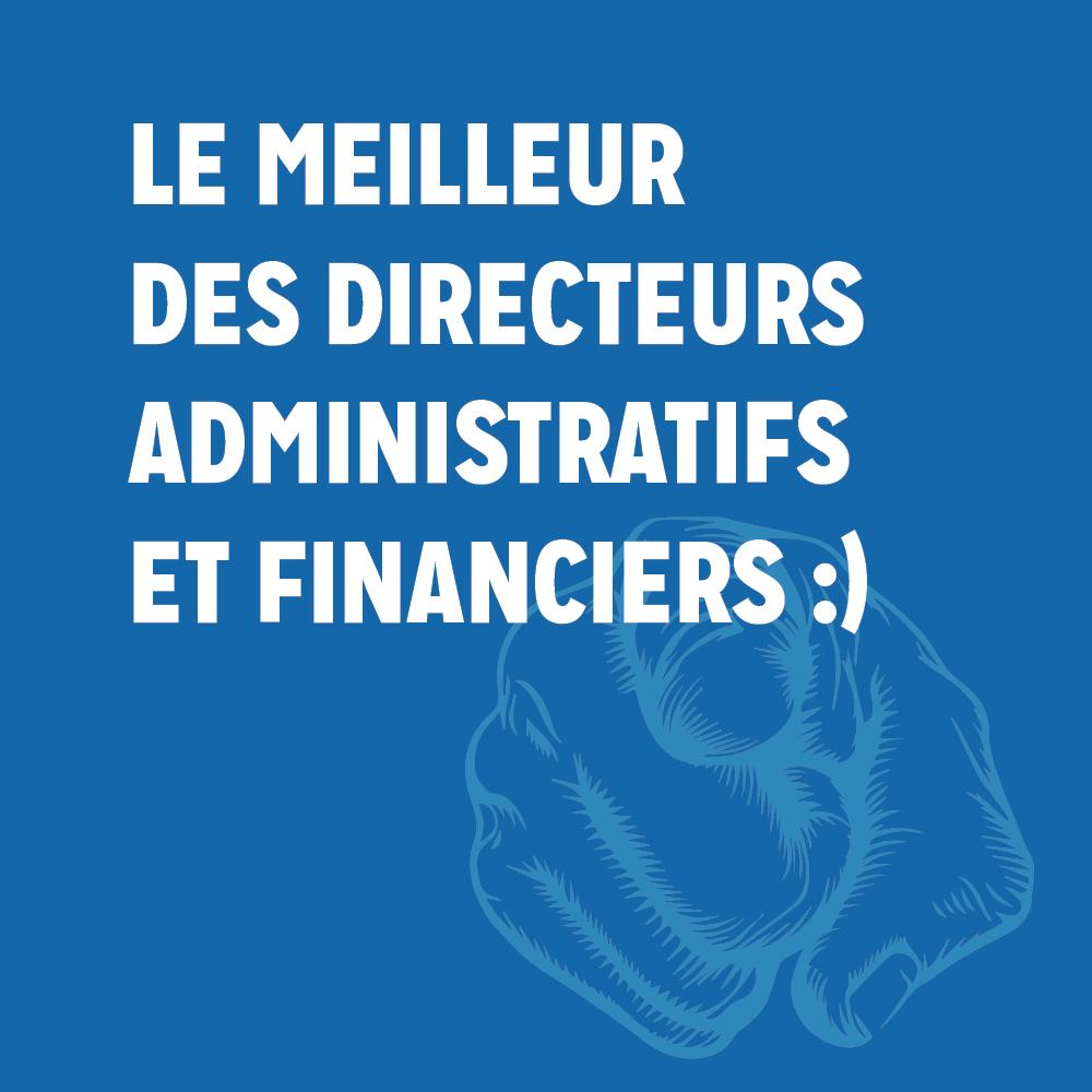 recrutement d'un DIRECTEUR ADMINISTRATIF ET FINANCIER (H/F)