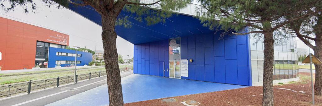 Bureaux Léonard Architecture à Montpellier, immeuble l'Ammonite